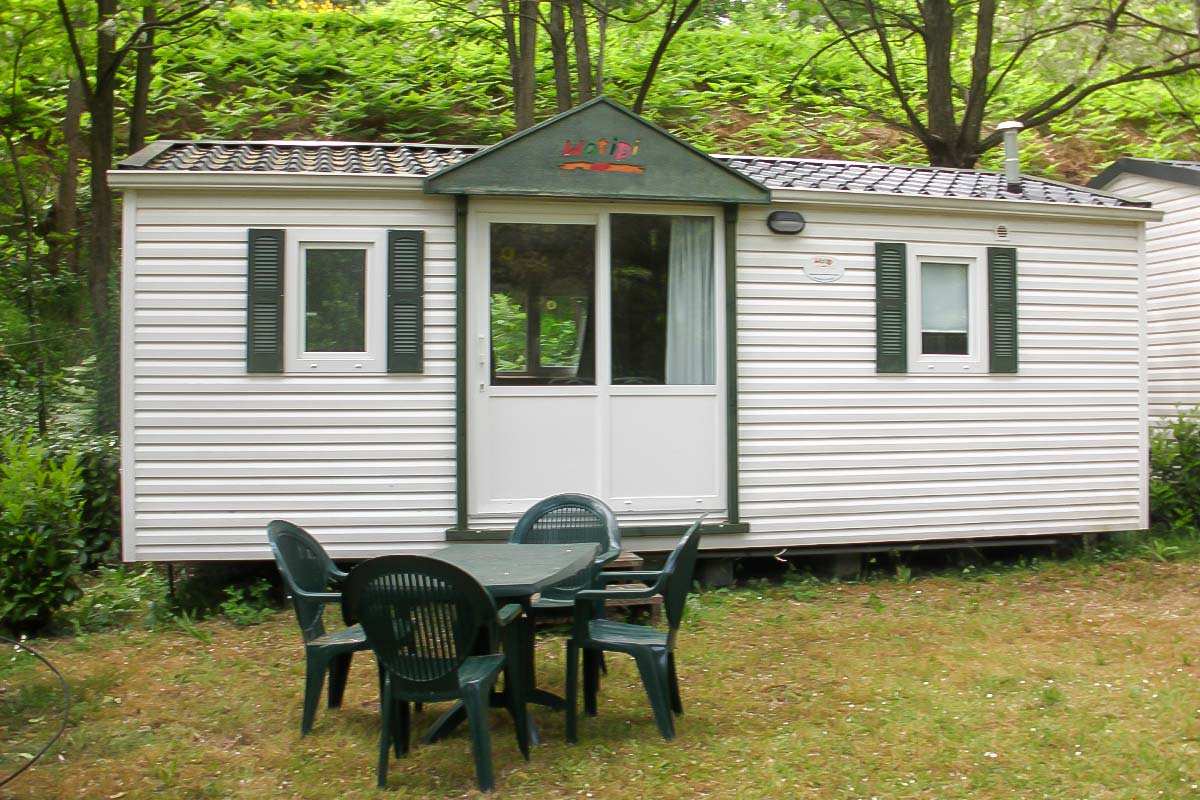 location cevennes mobil-home camping caylou